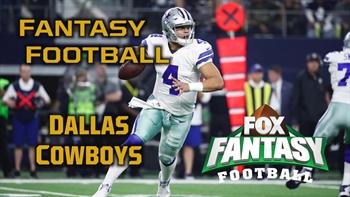 2017 Fantasy Football - Top 3 Dallas Cowboys