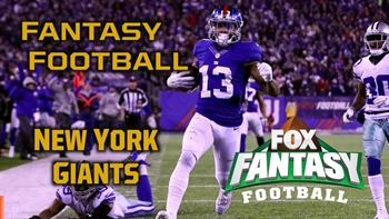 2017 Fantasy Football - Top 3 New York Giants
