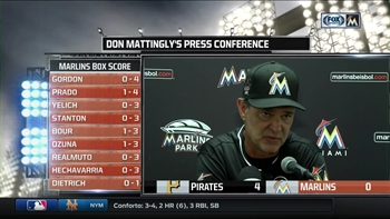 Don Mattingly wants Marlins to keep their heads up amid rough patch
