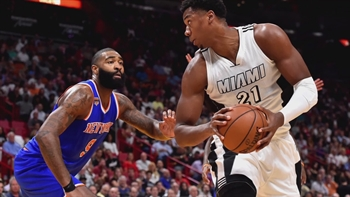 Miami Heat at New York Knicks - 7 p.m. - FOX Sports Sun