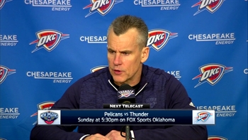 Billy Donovan on new editions, win over Lakers