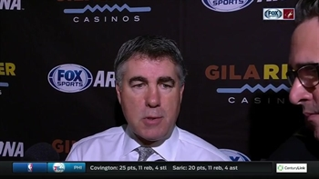 Dave Tippett: 'So many turnovers'