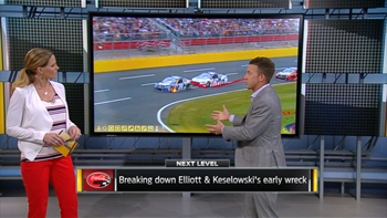 Breaking Down Chase Elliott and Brad Keselowski's Early Wreck | NASCAR RACE HUB