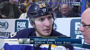 Steen says Blues have been playing 'pretty good' during six-game win streak