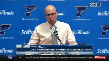 Yeo on Blues' win: 'Every play matters; All those little plays add up'