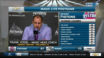 Frank Vogel says starters set the tone for Magic