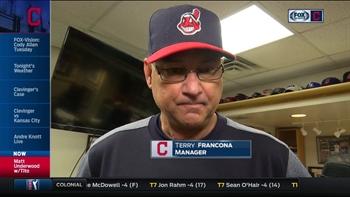 Tito talks rain delay, offers update on Corey Kluber
