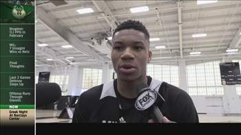 Bucks' Antetokounmpo on Greek Heritage Night