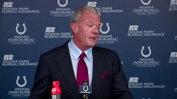 Jim Irsay on Peyton Manning: 'I wouldn't say he's in the picture'