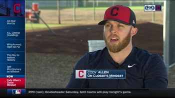 A closer's mindset: Cody Allen discusses one of the toughest roles in baseball