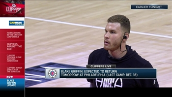 Clippers Live: Blake Griffin to return to the court against the 76ers