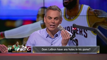 The criticisms of LeBron James during 2017 NBA playoffs are compliments | THE HERD