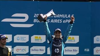 Sébastien Buemi Wins Buenos Aires ePrix |  2017 Formula E