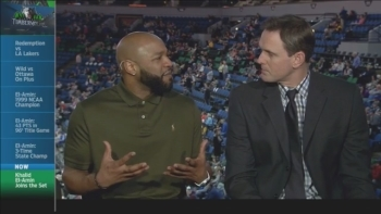 Minneapolis basketball legend Khalid El-Amin joins the broadcast booth