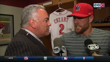 Reds lineup sizzling since Cozart's move to the two-hole