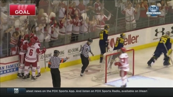 WATCH: Badgers score 6 in back-and-forth win