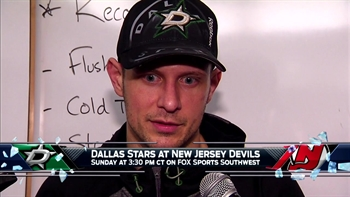 Jason Spezza returns to action, Stars defeat Sharks